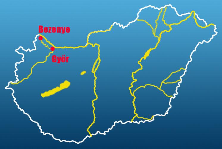 mosoni duna térkép Evezzvelem   Canoe tours   CS2 mosoni duna térkép