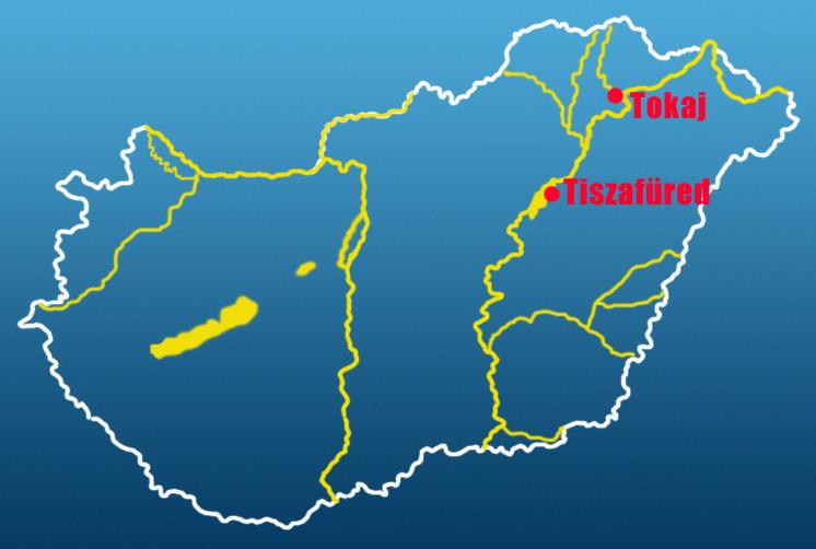 tokaj térkép Evezzvelem   Canoe tours   CS1 tokaj térkép
